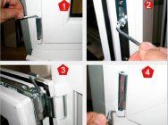 Как подтянуть дверь стеклопакета