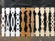Балясины для балкона из дерева