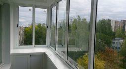 Как самому застеклить балкон алюминиевым профилем