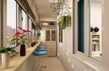 Идеи оформления балконов и лоджий