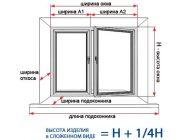 Как правильно замерять пластиковые окна