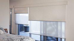 двойные рулонные шторы на пластиковые окна мир остекления