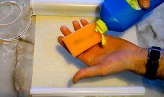Как стирать рулонные жалюзи