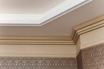 Полиуретановый карниз для потолка