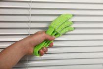 Как вымыть жалюзи горизонтальные