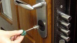 Как открыть металлическую дверь если сломался замок?