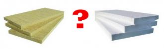 Что лучше пенопласт или базальтовая вата?